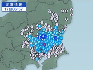 茨城地震余震2